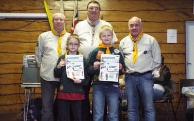 Cubs Earn Highest Award and Cub/Scout Quiz