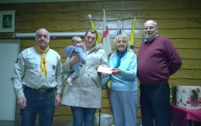 Easter Bingo & Ivan Hutchinson Memorial Fund Presentation