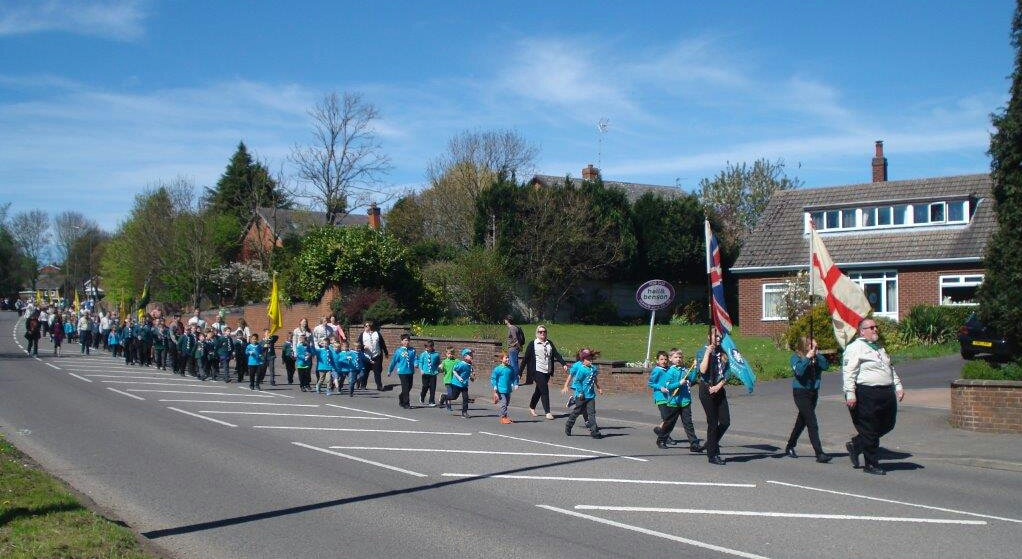 St. Georges Day Parade