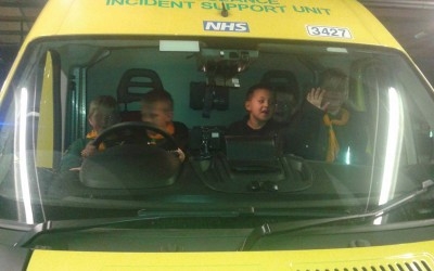 Ambulance Visit and more for Alpha Pack in January