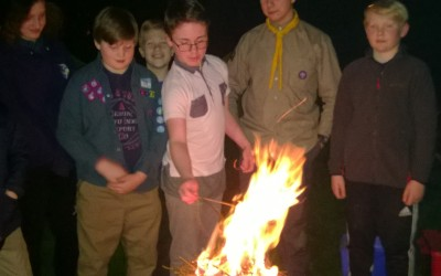 Chilly Challenge Highlight of January for Troop